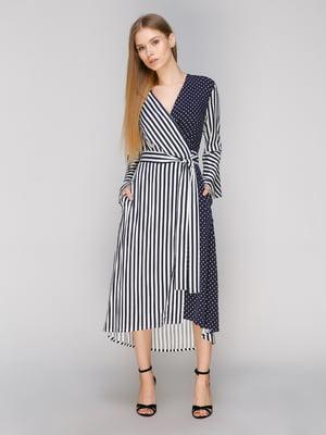Сукня комбінованого забарвлення | 5034347