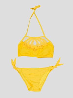 Купальник жовтий   5059916