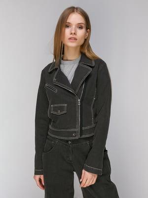 Куртка темно-сіра | 5034352