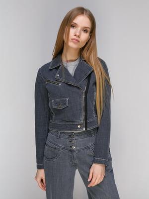 Куртка сіра | 5034351