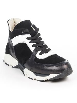 Кроссовки черно-белые   5048506