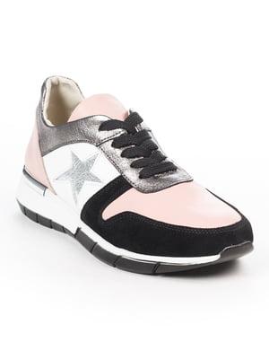Кроссовки розово-черные | 5048490