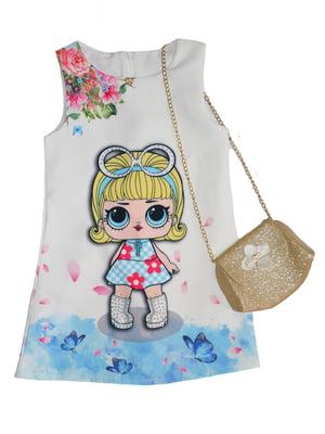 Платье в принт | 5063513