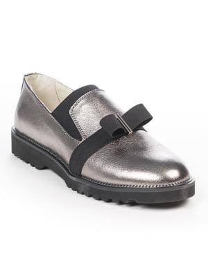 Туфлі кольору нікелю | 5048493