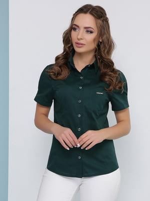 Сорочка смарагдового кольору | 5063012
