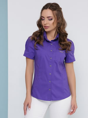 Рубашка фиолетовая   5063015