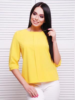 Блуза желтая | 5063016