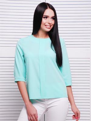 Блуза мятного цвета | 5063017