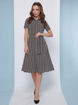 Платье в принт | 5063020
