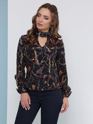Блуза темно-синяя | 5063030