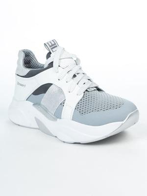Кроссовки двухцветные | 5056025