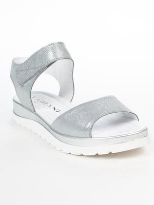 Сандалії сріблясті | 5060530