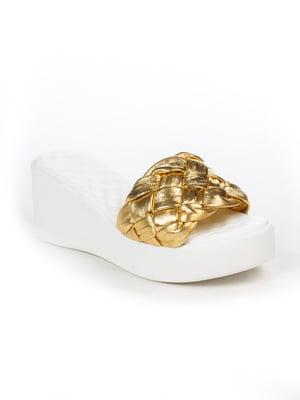 Шлепанцы золотистые | 5057192