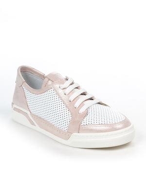 Кеды бело-розовые | 4915261