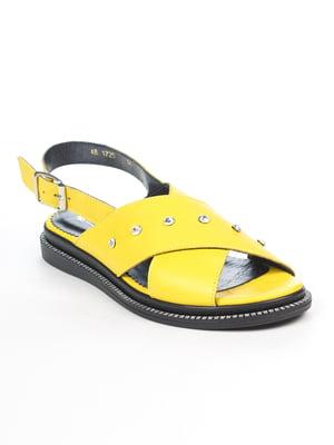 Сандалии желтые | 5057187