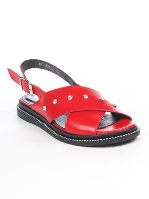 Сандалии красные | 5057188