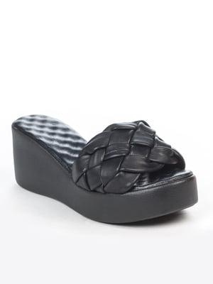 Шлепанцы черные | 5057191