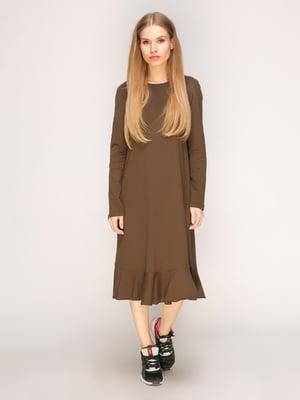 Платье цвета хаки | 3270398