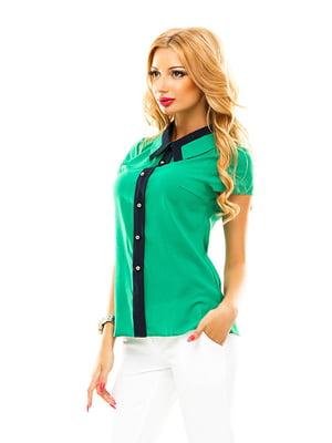 Блуза зелена   4615779
