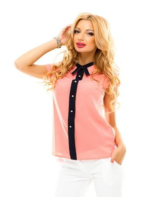 Блуза персикового цвета | 4655315