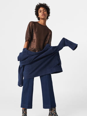 Блуза медного цвета   5065110