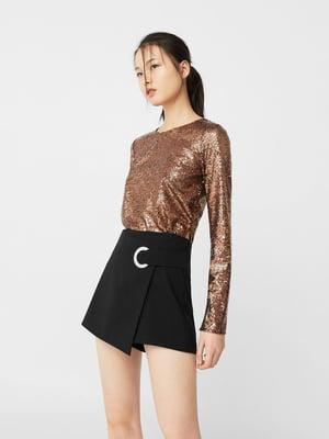 Блуза медного цвета   5065182