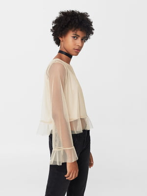 Блуза золотистая   5065429