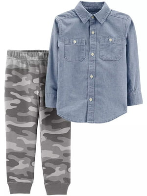 Комплект: рубашка и брюки | 5066606