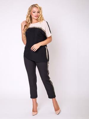 Блуза двоколірна - Luzana - 5066757