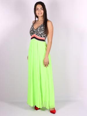 Платье салатового цвета | 5066693