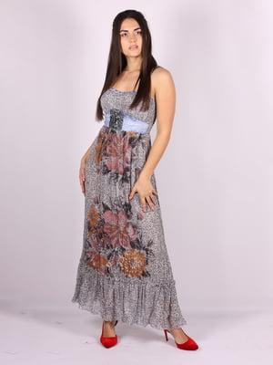Сукня в принт | 5066701
