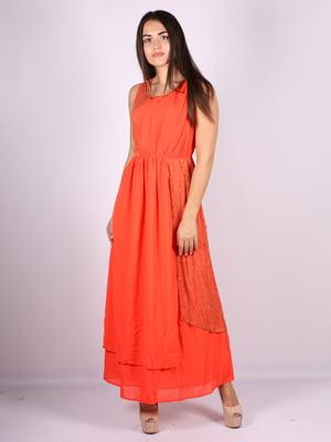 Платье оранжевое   5066725