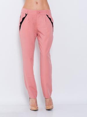 Штани персикового кольору | 5044796