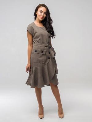 Сукня кольору хакі | 5066869
