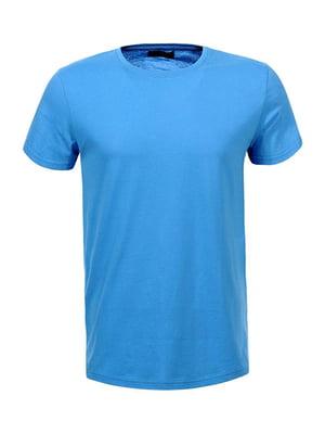Футболка голубая | 5061861