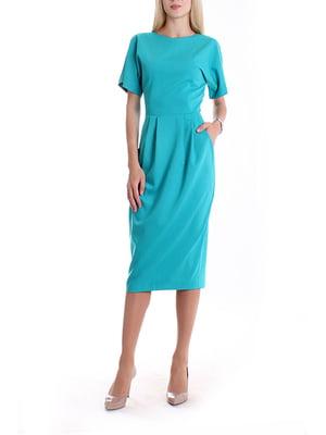 Сукня бірюзова | 5067502