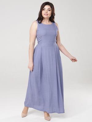 Сукня блакитна в горошок | 5069045