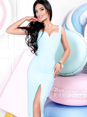 Платье голубое | 2387777