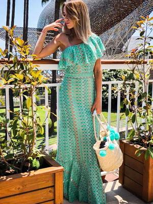 Платье зеленое | 4455648