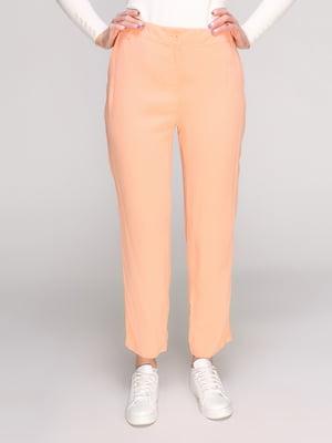 Брюки персикового цвета   2784150