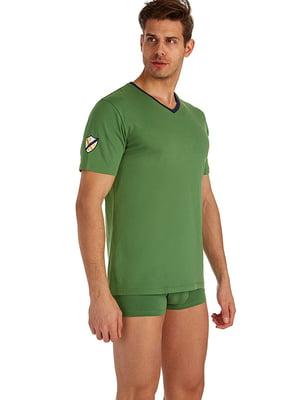 Футболка зелена | 5057842
