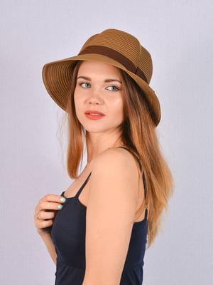 Шляпа коричневая   5070850
