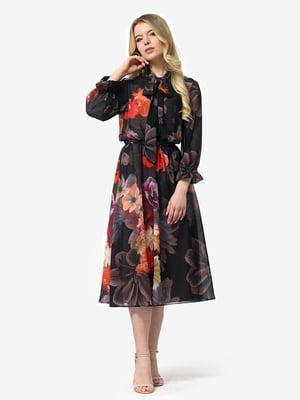 Платье в цветочный принт | 5071178