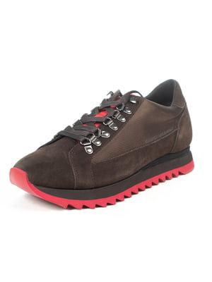 Кроссовки коричневые   5057055