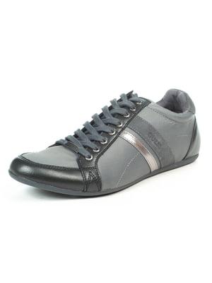 Кроссовки серо-черные | 5057039