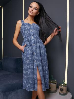 Платье в цветочный принт | 5071209