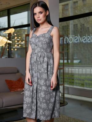 Платье в цветочный принт | 5071213