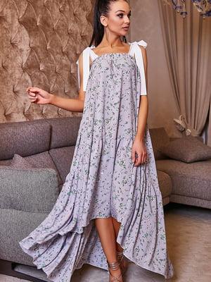 Платье в цветочный принт | 5071233