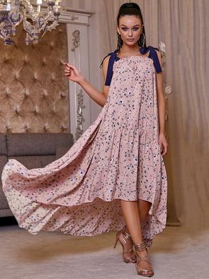 Платье в цветочный принт | 5071234