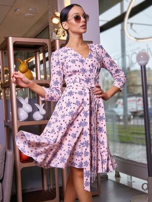 Платье в цветочный принт | 5071239